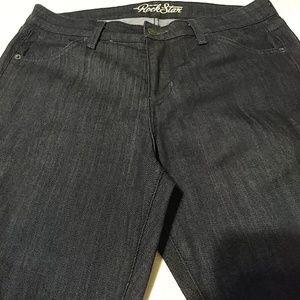 Old Navy Dark Blue Rockstar Boot Cut Jeans